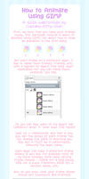Tutorial - How to Animate Using GIMP by Cupcake-Kitty-chan