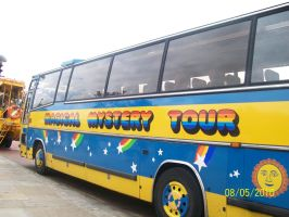 Magical Mystery Tour Bus by GoodDaySunShineXD
