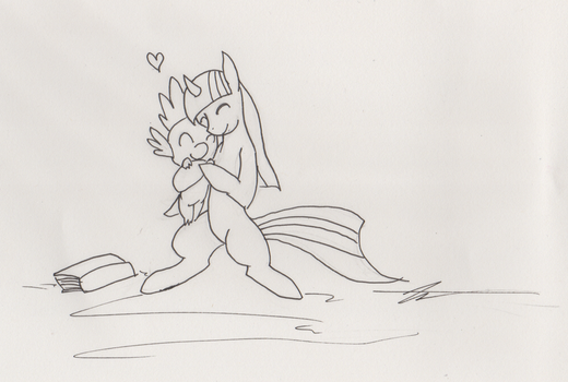 BronyCon Sketch: LBBFF by Kaizerin by TheDescendantofKehAn