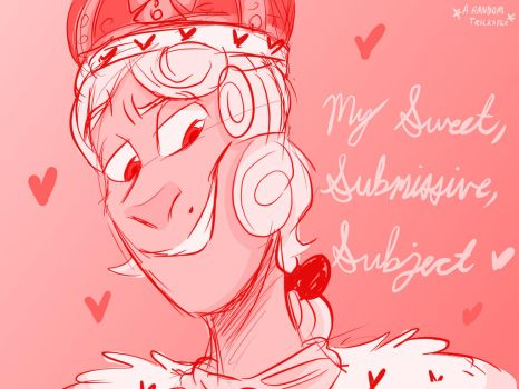 My Sweet Submissive Subject Cover Art by violetwolf9