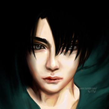 Rivaille Ackerman by effy7