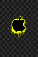 Apple iphone wallpaper-Yellow by Photogenic5