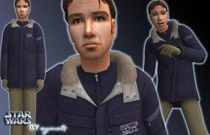Sims 2: Han Solo by aymo87