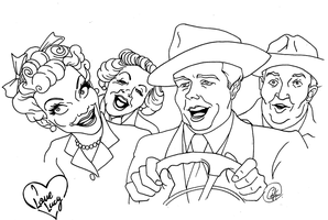 I LOVE Lucy by DemonCartoonist