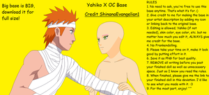 Yahiko X OC Base by ShinanaEvangelian1