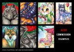 ACEO Commission Examples by Beast91