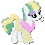 Fenton Crackshell's Mother as a Pony by Telasra