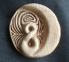 Maori wood carving by Shoshannah84