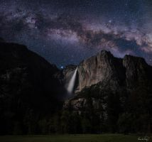 Yosemite Milky Way by tt83x