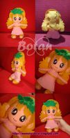 chibi Pollon plush version by Momoiro-Botan