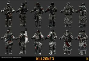 killzone 3 soldier variants by tactican