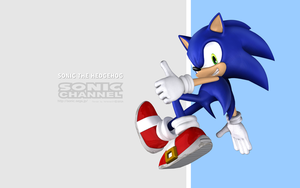 Sonic the Hedgehog (Sonic Channel style) by itsHelias94