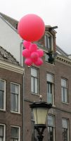 Pink Saturday 2013 - Balloons2 by Joshua-Mozes