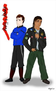 Rimmer and Lister by NightCat-HekaSu