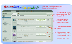 dAhub_MessageCenter_ContestWidget by Dediggefedde