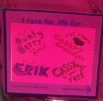 RaceforLife Backsign by wilterdrose