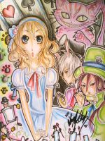 Alice in Wonderland by LeNe-weee