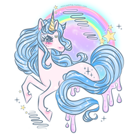 Twilight Galaxy Unicorn by MissJediflip