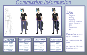 Commission info (CLOSED) by Sinomis