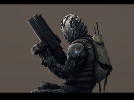 Jizzdeadspace3 by ivanalexander