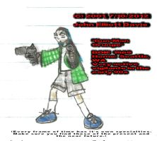 Gun-Man Grunge - 2001 by LittleGreenGamer