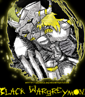 DigiPortal: Black Wargreymon by Achird