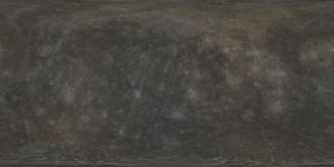 Mercury Albedo Texture Map 20k by FarGetaNik
