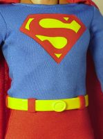 Christopher Reeve 1:6 Suit CU by scottstoybox