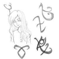 Clary Fray Uncolored by ErikNightxTayLautner
