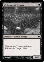 Magic The Gathering Wehrmacht by ogurki