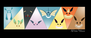 Eeveelutions!!!!!!!! by Tor-Tor1991