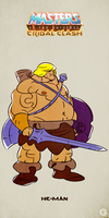 MotU - Tribal Clash: He-Man by G-for-Galdelico