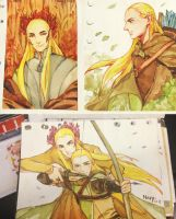 thranduil legolas -sketch1 by navy-locked