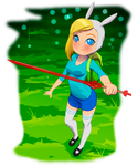 Fionna fan art by fradarlin
