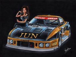 Mazda RX7 253i Le Mans by vsdesign69
