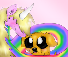 Lady and Jake by PlagueDogs123