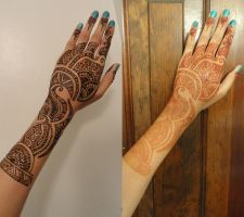 Aug 2011 Eid Henna 2 by A-w0man