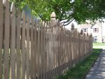 Shaded Fence by Kurosaki224