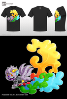 BAM .:Beatyfull Artist Monster:. T-shirt by PEQUEDARK-VELVET