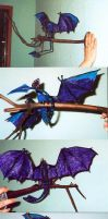 large purple branch wyvern by dragon-dan