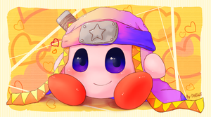 Kirby Art 011 - Ninja by D685ab7f-pis