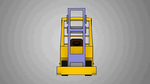 Forklift Animated turntable. by DaveBaldwin3D