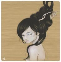FanArt for Audrey Kawasaki by warnia