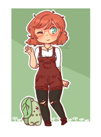 :PTS: Trainer Chibi by PeachTii
