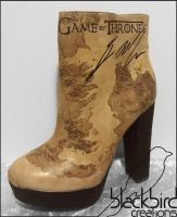 Game of Thrones Shoe by GamerGirl84244