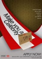 HSBC. make you a celebrity by Giemax