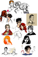 Harry Potter Doodles by hilarity