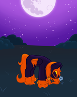 Gift: Hallow in the Moonlight by Kitsune-no-Suzu