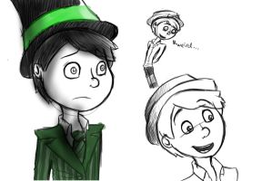 Once-ler doodles :3 by Valentinorena2010