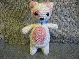 Kawaii Kitten by NerdyKnitterDesigns